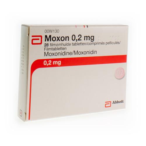 Moxon 0,2 Mg (28 Comprimes)