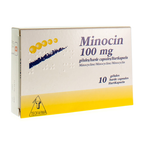 Minocin 100 Mg (10 Capsules)