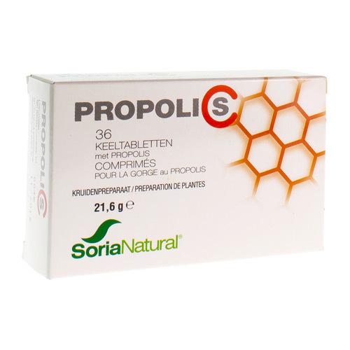 Soria Nat Propolis C Compr Gorge 36Comp