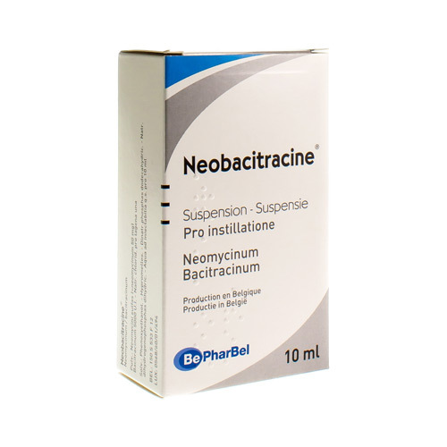 Neobacitracine Druppels (10 Ml)