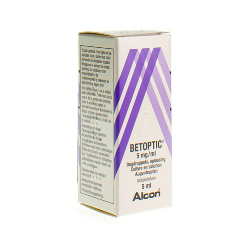 Betoptic 5 Mg/Ml (5 Ml)