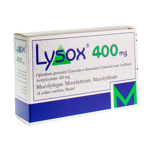 Lysox 400 Mg (14 Sachets)