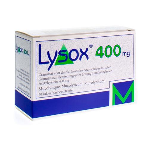 Lysox 400 Mg (30 Sachets)