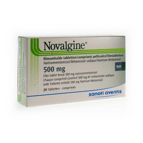 Novalgine 500 Mg (12 Comprimes)