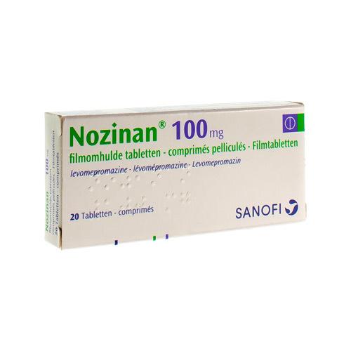 Nozinan 100 Mg (20 Comprimes)