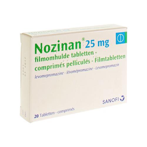 Nozinan 25 Mg (20 Comprimes)
