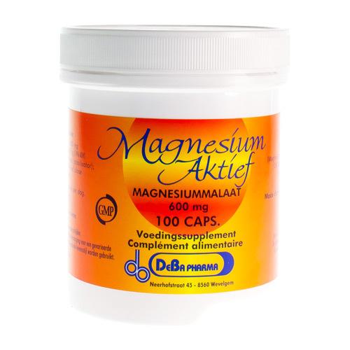 Magnesium Actif Deba 600 Mg (100 Capsules)
