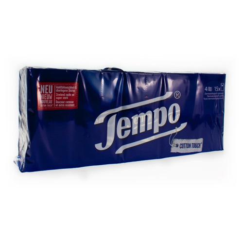 Tempo Simple Mouchoirs 15X10Pcs