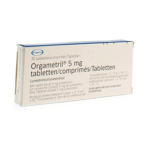 Orgametril 5 Mg (30 Comprimes)