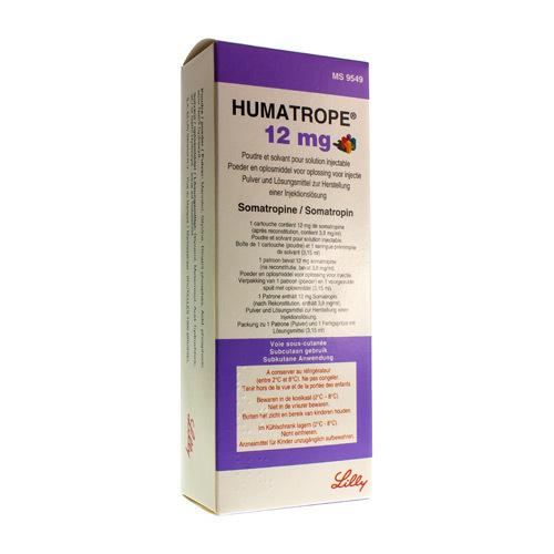 Humatrope 12 Mg (1 Seringue)