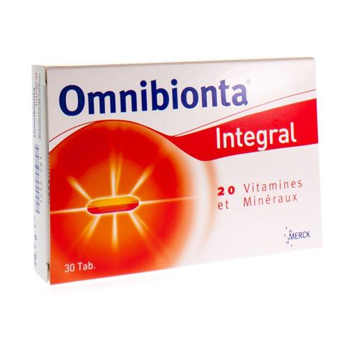 Omnibionta Integral (30 Comprimes)