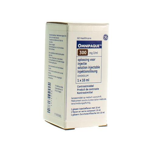 Omnipaque 300 Mg I/Ml (1 X 10 Ml Injectieflacon)