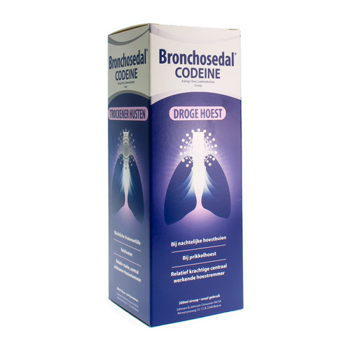 Bronchosedal Codeine 9,0 Mg/10 Ml  200 Ml