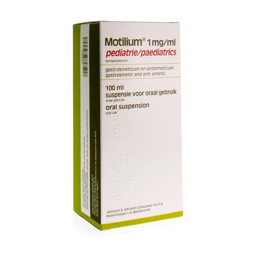 Motilium Pediatrie 1 Mg/Ml (100 Ml)