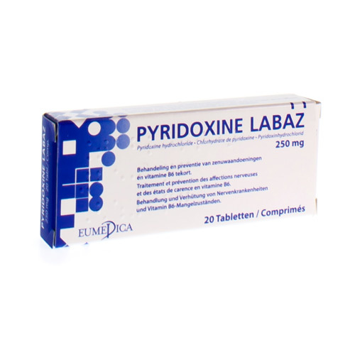 Pyridoxine Labaz 250 Mg (20 Tabletten)