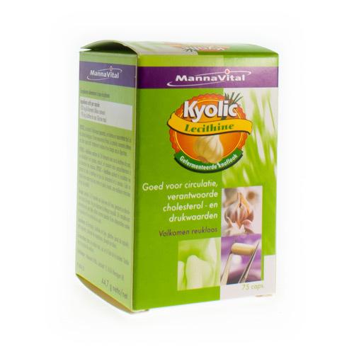 Mannavital Kyolic + Lecithine (75 Capsules)