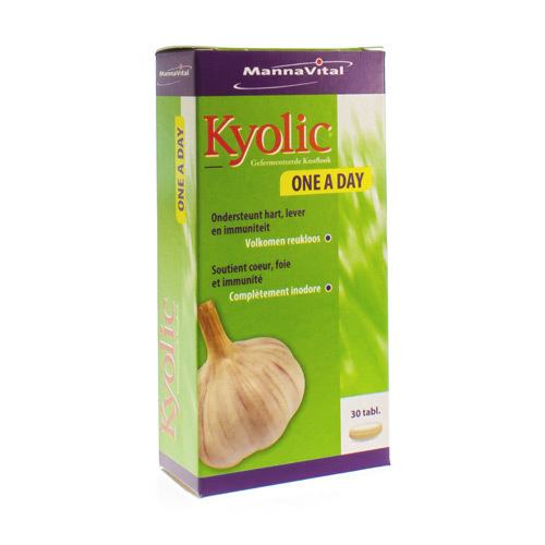 Mannavital Kyolic One A Day (30 Comprimes)