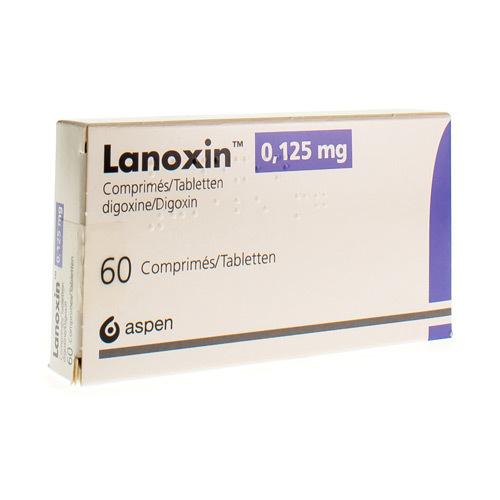 Lanoxin 0,125 Mg (60 Comprimes)