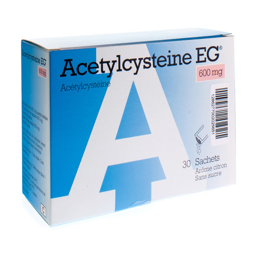 Acetylcysteine EG 600 Mg  30 Sachets
