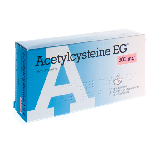 Acetylcysteine EG 600 Mg  30 Comprimes Effervescents