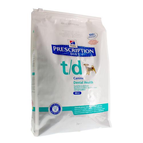 Hills Prescrip Diet Canne Td Mini (3 Kg)