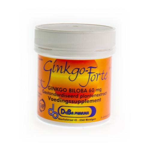 Ginkgo Forte Deba 60 Mg (60 Capsules)