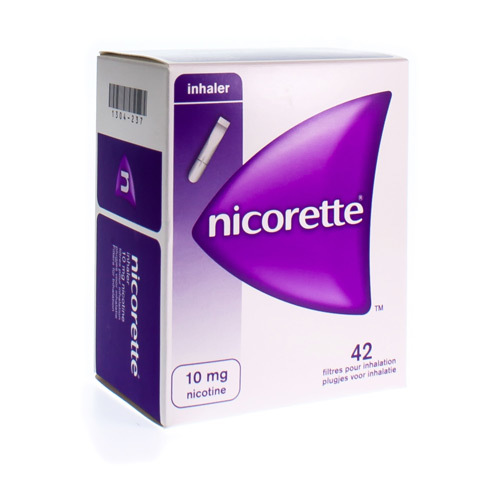 Nicorette Inhaler 10 Mg (42 Cartouches)