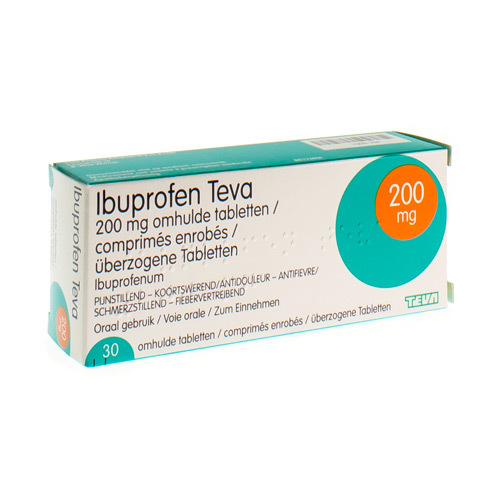 Ibuprofen Teva 200 Mg (30 Tabletten)