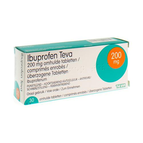 Ibuprofen Teva 200 Mg (30 Tabletten)