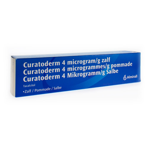 Curatoderm Zalf 4 Mcg/G  150 Gram