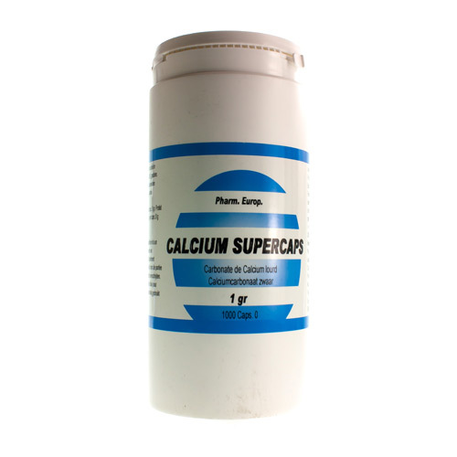 Calcium Carb Supercaps 1000 Mg  1000 Capsules