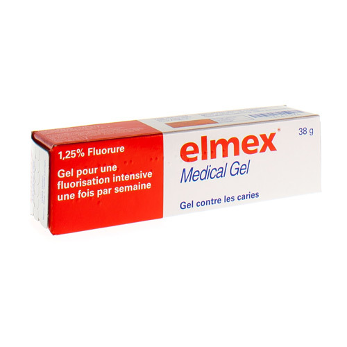 Elmex Medical Gel 1,25% (38 Grammes)