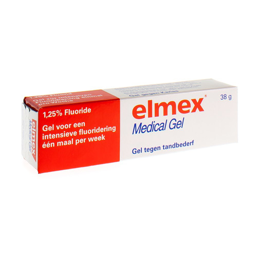 Elmex Medical Gel 1,25% (38 Gram)