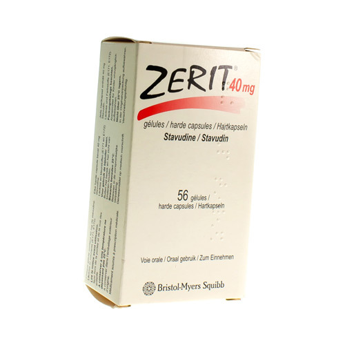 Zerit 40 Mg (56 Capsules)