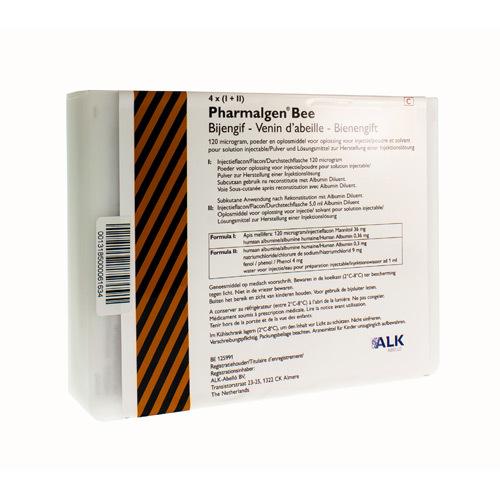 Pharmalgen Bijengif (4 Injectieflacons)