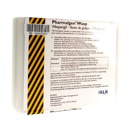 Pharmalgen Wespengif (4 Injectieflacons)