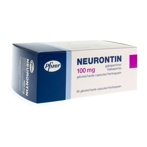 Neurontin 100 Mg (90 Gelules)
