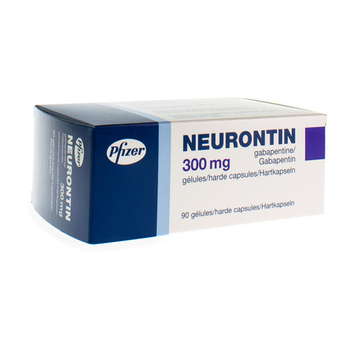 Neurontin 300 Mg (90 Gelules)