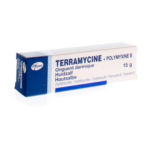 Terramycine + Polymyxine B Zalf (15 Gram)