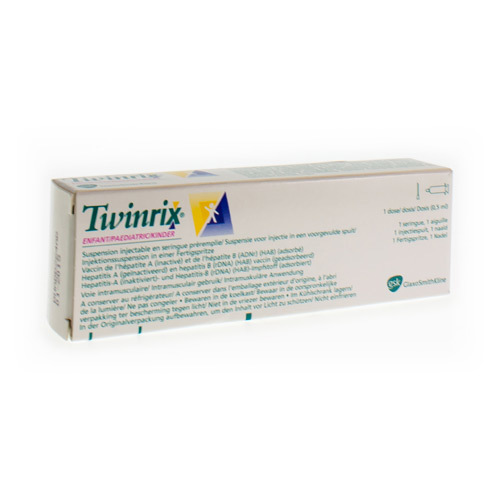 Twinrix Paediatric Vaccin (1 Spuit)