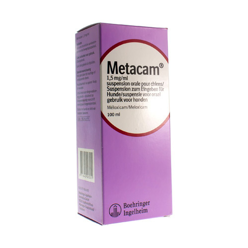 Metacam Veterinair 1,5 Mg/Ml (100 Ml)