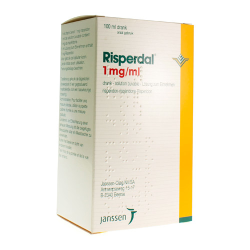 Risperdal 1 Mg/Ml (100 Ml)