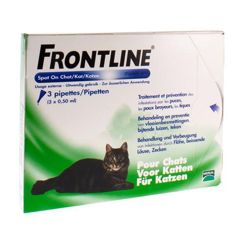 Frontline Spot-On Veterinaire (3 Pipettes)