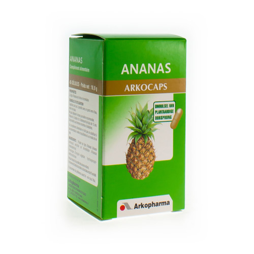 Arkogelules Ananas 100% Plant  45 Capsules
