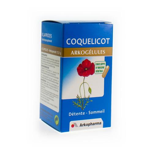 Arkocaps Coquelicot Vegetal  45 Capsules