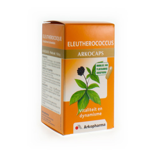 Arkocaps Eleutheroccus Plantaarid  45 Capsules