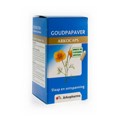 Arkocaps Goudpapaver Plantaardig  45 Capsules