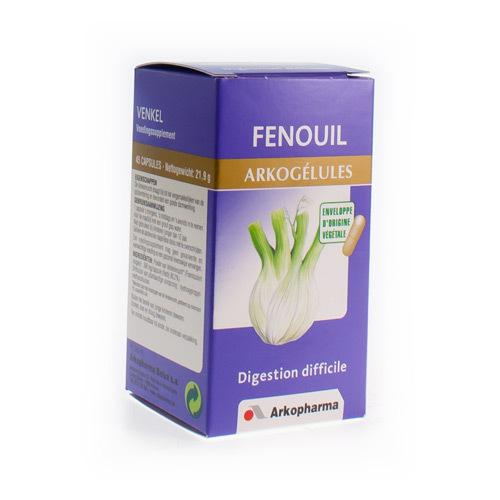 Arkocaps Fenouil Vegetal  45 Capsules