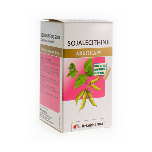 Arkocaps Sojalecithine Plantaardig  45 Capsules