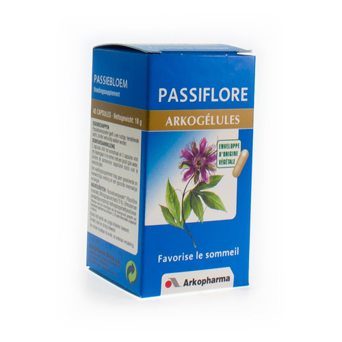 Arkocaps Passiflore Vegetal  45 Capsules